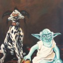 thumbs yoda and a salacious dalmation by wytrab8 d4zeit7
