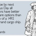 thumbs columbus day humor 26