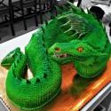 thumbs dragon cake