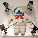 thumbs stay puft cake