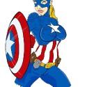 thumbs female captain america 2