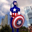 thumbs female captain america