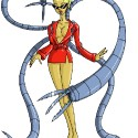 thumbs female doctor octopus