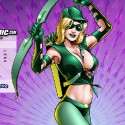 thumbs female green arrow 2