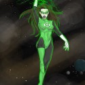 thumbs female green lantern