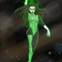 thumbs female green lantern