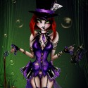 thumbs female mad hatter