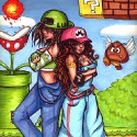 thumbs female mario brothers