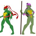 thumbs female ninja turtles