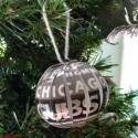 thumbs chicago cubs christmas ornament 11