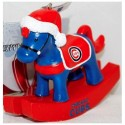 thumbs chicago cubs christmas ornament 13