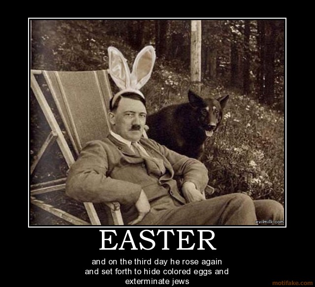Happy De-motivational Easter!