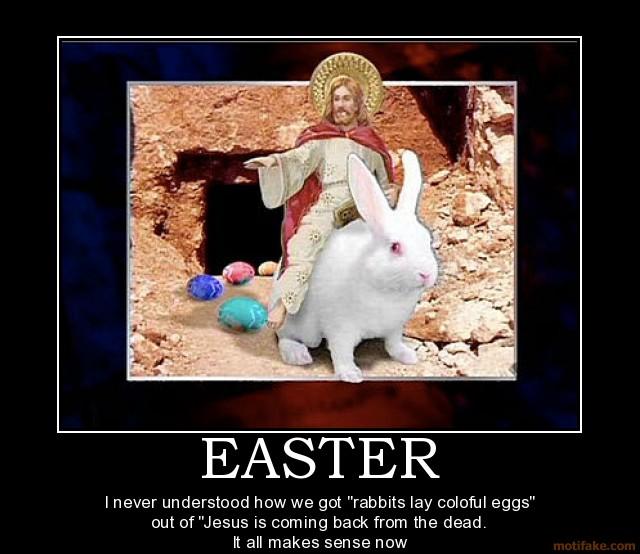 Happy De Motivational Easter