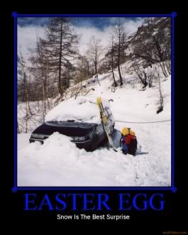 Best Snow Tires For Trucks >> Happy De-motivational Easter!