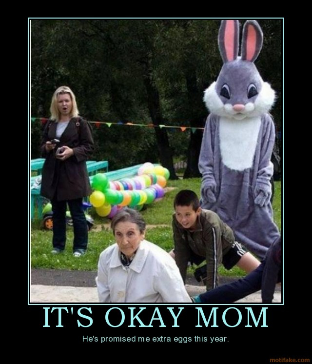 Funny Happy Easter Quotes: Happy De-motivational Easter