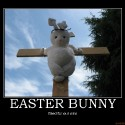 thumbs easter bunny bunny demotivational poster 1204344307