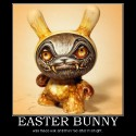 thumbs easter bunny demotivational poster 1239774262