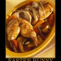 thumbs easter bunny easter rabbit dinner yum demotivational poster 1270415168