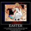 thumbs easter easter commercialization demotivational poster 1270389867