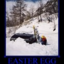 thumbs easter egg surprise snow egg demotivational poster 1220011908