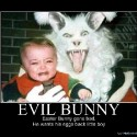 thumbs evilbunny