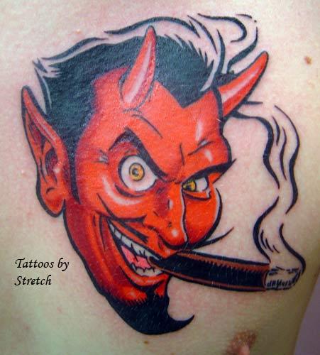 Coop Devil Girl Tattoo Designs