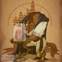 disney_steampunk__beast_by_mecaniquefairy-d3iqg78
