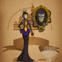 thumbs disney steampunk  evil queen by mecaniquefairy d4t7ia6