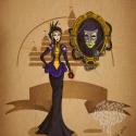thumbs disney steampunk  evil queen by mecaniquefairy d4t7ia6