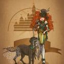 disney_steampunk__merida_by_mecaniquefairy-d5kb14i