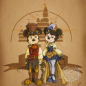thumbs disney steampunk  mickey et minnie by mecaniquefairy d4qti6g