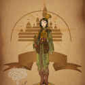 thumbs disney steampunk  mulan by mecaniquefairy d4begsf