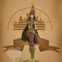 thumbs disney steampunk  pocahontas by mecaniquefairy d4np4l5