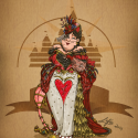 thumbs disney steampunk  queen of heart by mecaniquefairy d78x82t