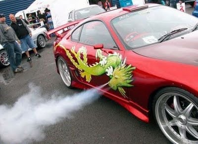 Cool Dragon Art On Cars - Really cool cars