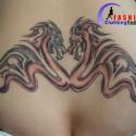 thumbs dragon tattoo 099