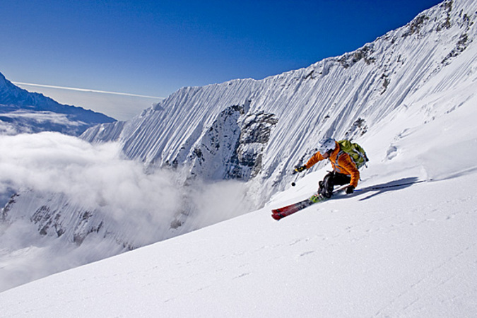 Extreme Skiing Wallpaper: Frozen And Fearless: A Tribute To Extreme Skiing