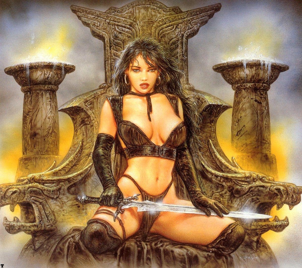 Fallen angel heavy metal porn music video 9