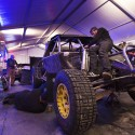 Todd Leduc works on his truck after qualifiers at Sunday River in Newry, ME on January 08, 2015 // Brian Nevins/Red Bull Content Pool // P-20150109-00016 // Usage for editorial use only // Please go to www.redbullcontentpool.com for further information. //