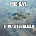 thumbs the day it was legalized 540