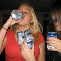 thumbs hot girls drinking alcohol 3