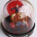 thumbs snow globe halloween