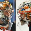 thumbs anaheim ducks john gibson goalie mask