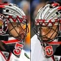 thumbs chicago blackhawks corey crawford goalie mask