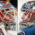 thumbs colorado avalanche calvin pickard goalie mask