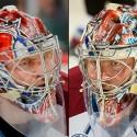 thumbs colorado avalanche semyon varlamov goalie mask