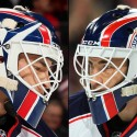 thumbs columbus blue jackets curtis mcelhinney goalie mask