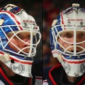 thumbs columbus blue jackets joonas korpisalo goalie mask
