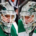 thumbs dallas stars antti niemi goalie mask