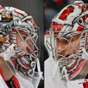 thumbs detroit red wings petr mrazek goalie mask